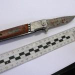 Elbląska policja zatrzymała nożownika