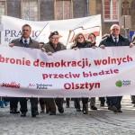 Maszerowali na ratunek Polsce