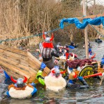 Nurkowie z kraju i z zagranicy witali wiosnę podczas XV Skorpenowego Spływu Łyną