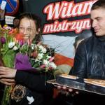 Fani przywitali olsztyńską mistrzynię