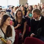Młodzież chętnie śpiewa piosenki Kaczmarskiego
