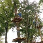 Park linowy w Ełku do 28 marca bezpłatny