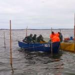 Rybacy zarzucili sieci