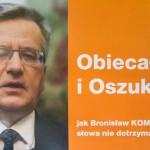 Posłowie PiS ocenili prezydenturę Bronisława Komorowskiego