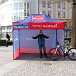 Po Olsztynie najszybciej rowerem!