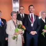 Ełk uhonorował pary z najdłuższym stażem małżeńskim