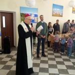 Biskup odwiedził uchodźców z Donbasu