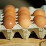Ukradzione jaja sprzedał w cukierni