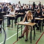Egzamin gimnazjalny na półmetku
