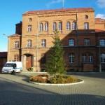 Areszt Śledczy w Bartoszycach z nowym sztandarem