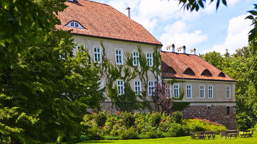 Pałac w Galinach. Fot. Sławomir Ostrowski