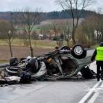 Świąteczne wypadki na drogach Warmii i Mazur