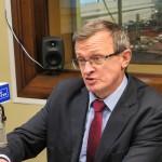 Tadeusz Cymański wsparł w Olsztynie Elżbietę Wirską