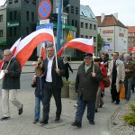 """Manifestacja PiS: """"Święto Pracy bez Pracy"""""""