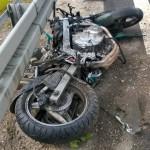 Groźne wypadki z udziałem motocyklistów w Giżycku