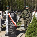 Upamiętnili żołnierza Armii Krajowej