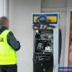 Policja po pościgu ujęła włamywaczy do bankomatu w Olsztynie