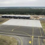 Szymany: budowa drogi i torowiska do portu lotniczego