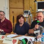 Owsiak u lekarzy i pacjentów szpitala dziecięcego w Olsztynie