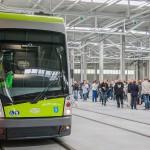 Pierwszy kurs tramwajem 15 grudnia