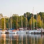Kończy się sezon nawigacyjny na Wielkich Jeziorach Mazurskich. Od dziś szlak żeglugowy jest zamknięty