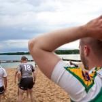 Dzień Ojca na sportowo nad jeziorem Ukiel