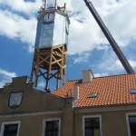 Ratusz w Barczewie odzyskał wieżę