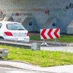 Duże utrudniani dla kierowców przejeżdżających przez Olecko. Trwa remont obwodnicy
