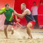 Rugbyści walczą o Puchar Polski na olsztyńskiej plaży