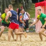 Rugbyści opanowali olsztyńską plażę