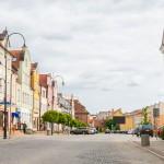 Remont głównych ulic Nidzicy
