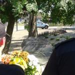 Policjanci oddali hołd zastrzelomenu Markowi Cekale