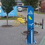 Ełk zainwestował w stacje naprawy rowerów