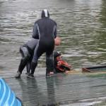Utonęła uczestniczka nurkowania w jeziorze Ukiel