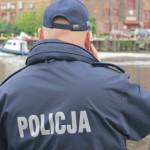 Studenci szkoły policyjnej patrolują ulice Morąga