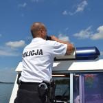 Pijany sternik na jeziorze Tałty