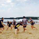 Lechia Gdańsk najlepsza na olsztyńskiej plaży
