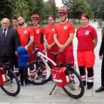 Na ulice Olsztyna wyjechały patrole ratowników PCK