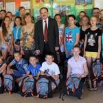 Młodzież z Ukrainy na wakacjach w gminie Dywity