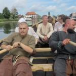 Ochrzczono kolejną łódź Wikingów