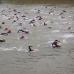 Rajd pływacki na Małym Jezioraku w Iławie