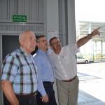 Minister Janusz Cichoń odwiedził budowę ZUOK w Olsztynie