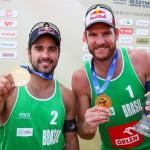Olsztyn Grand Slam 2015: zwycięstwo pary Bruno/Allison