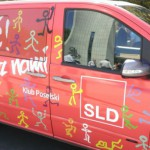 W Olsztynie zaparkowały czerwone busy SLD