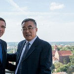 W olsztyńskim ratuszu o współpracy z Chińczykami