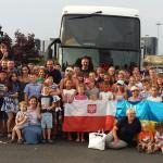 Dzieci z Ukrainy kończą wakacje na Warmii i Mazurach