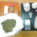 Arsenał narkotyków w mieszkaniu 24-latka