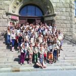 Harcerze z Offenburga odwiedzili olsztyński ratusz