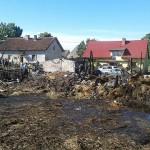 Nocny pożar u rolników w Łupowie