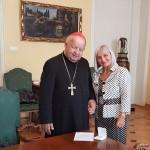 Do szpitala w Elblągu trafiła relikwia św. Jana Pawła II